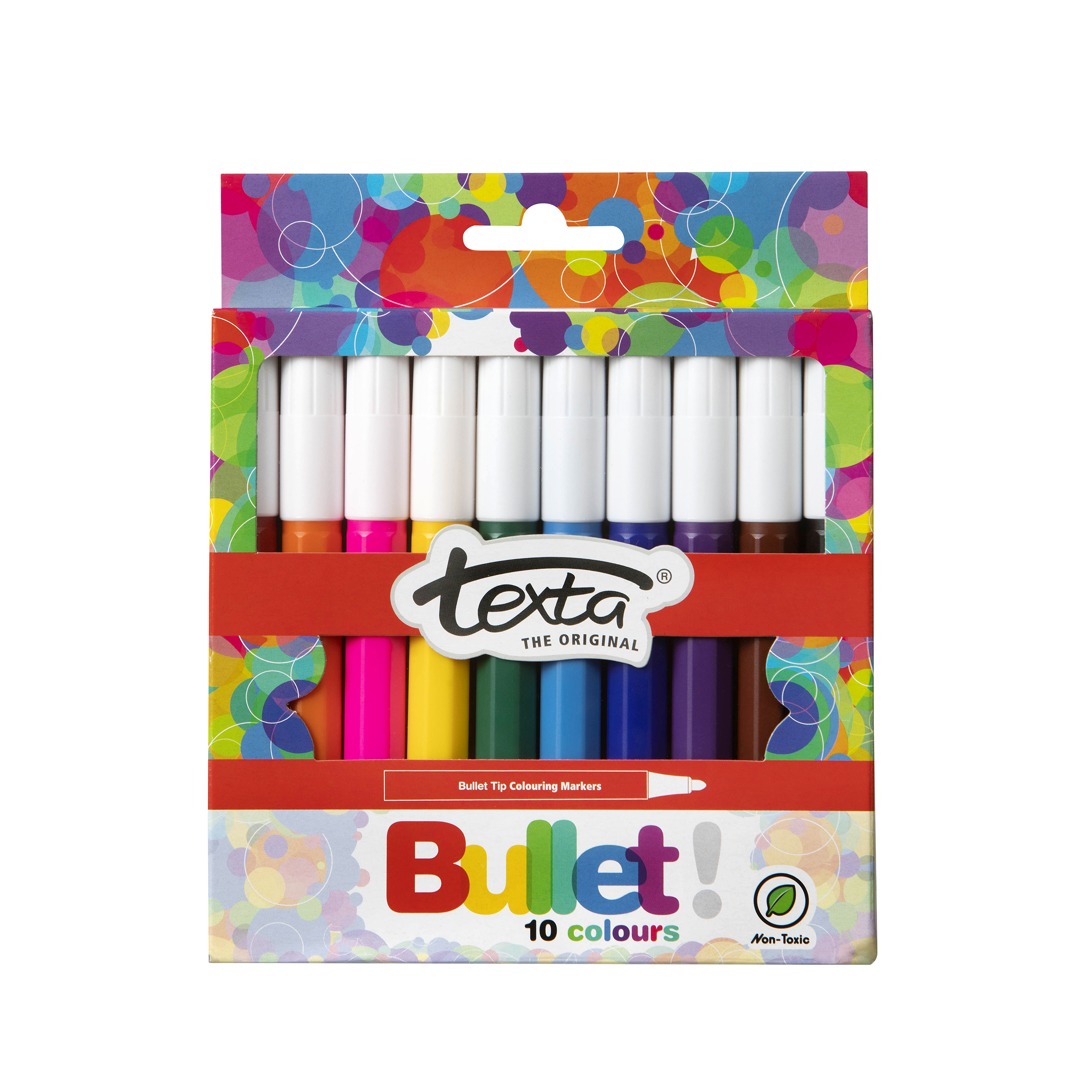 Bullet Tip Colouring In Markers