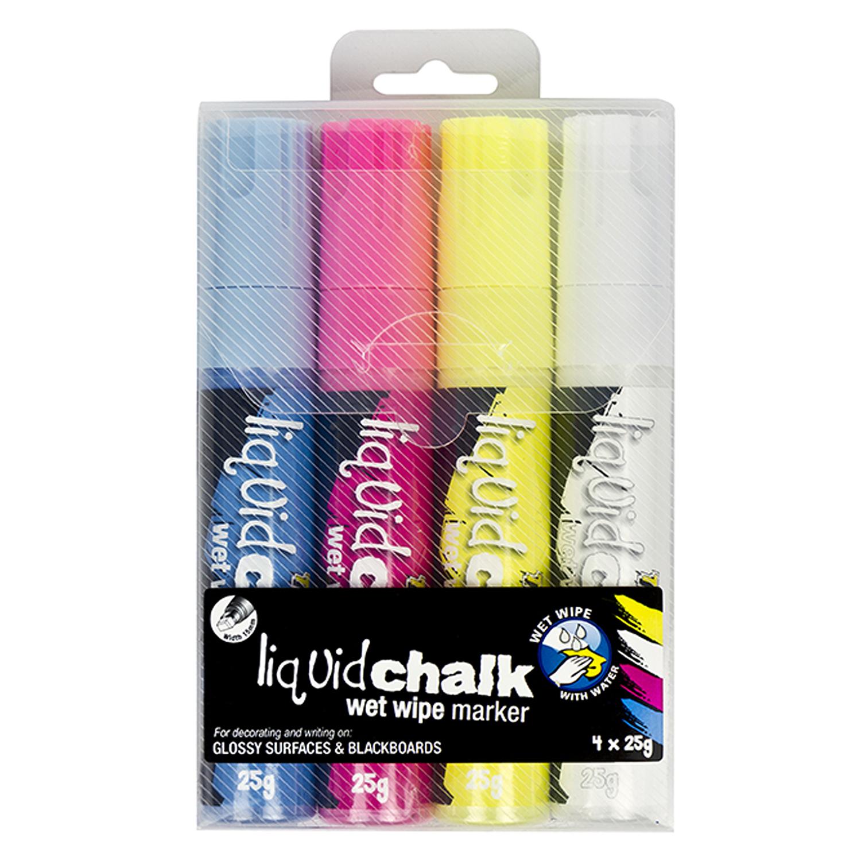 Liquid Chalk Wet Wipe Jumbo