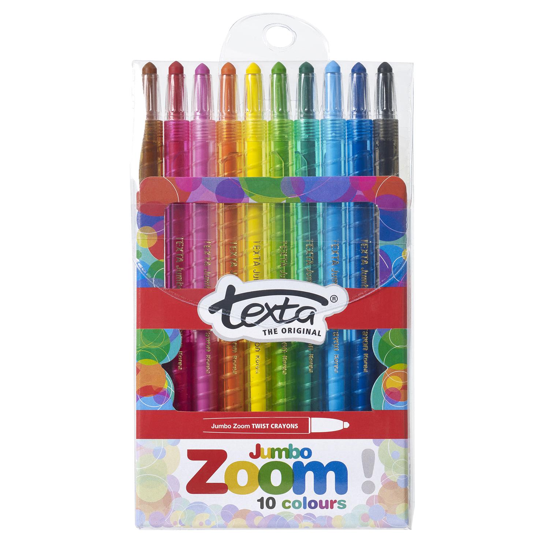 Zoom Jumbo Twist Crayons